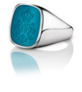 Siegelring signet rings Wappen Ring Silber